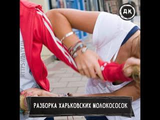 Массовое избиение девушки в Харькове   Дерзкий Квадрат