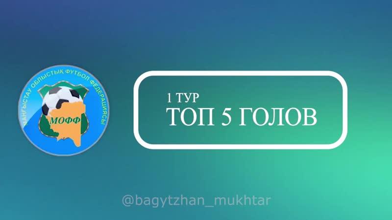 ТОП-5 лучших голов 1-тура