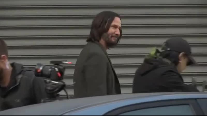Keanu Reeves back in San Francisco as 'Matrix' filming underway