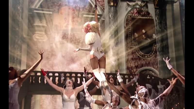 Lady Gaga Performs 'Poker Face' 'Paparazzi' (2009) VMAs 4K