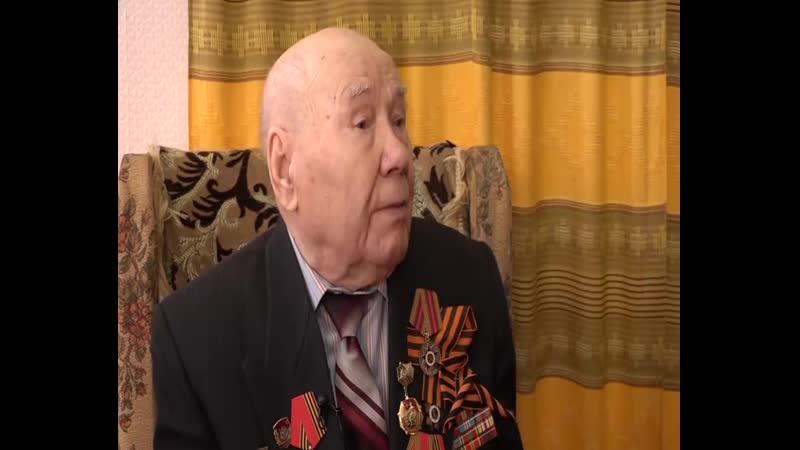 Спецпроект Видели войну: ветеран Великой Отечественной войны Василий Николаевич Кузнецов