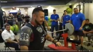 Новый мировой рекорд от Романа Еремашвили в 75 категории - 245 кг (2019)
