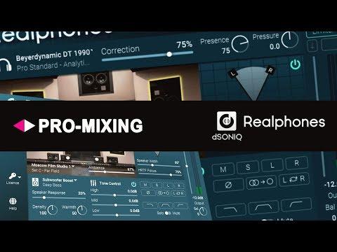 DSONIQ Realphones честный мониторинг в наушниках Специальный Гость