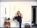 Ring Juggling Tricks Techniques Ring Under Legs Sequentially Ring Juggling Trick