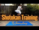 KARATE PRACTICE 001 Jumps and Kihon Drills By Jason Leung