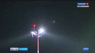 Аэропорт  Петрозаводск закрыли в связи с неблагоприятными погодными условиями