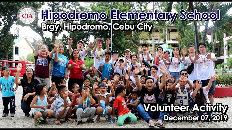 CIA Volunteer Activity Hipodromo Elementary School Brgy Hipodromo Ceby City 12 07 19