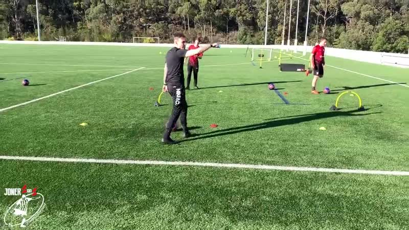 How To Improve Passing Accuracy _ Passing 1st Touch Drills _ Joner 1on1- 01