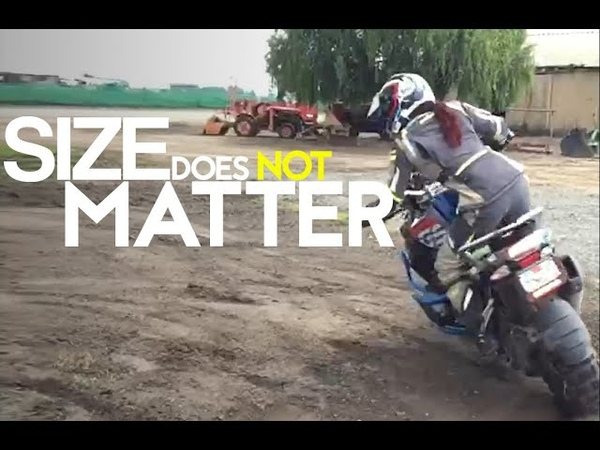 Pint-Sized Rider Jocelin Snow Taming a Big-Bore GS Is Proof Size Doesnt Matter
