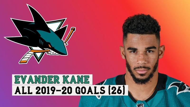 Evander Kane 9 All 26 Goals of the 2019 20 NHL Season