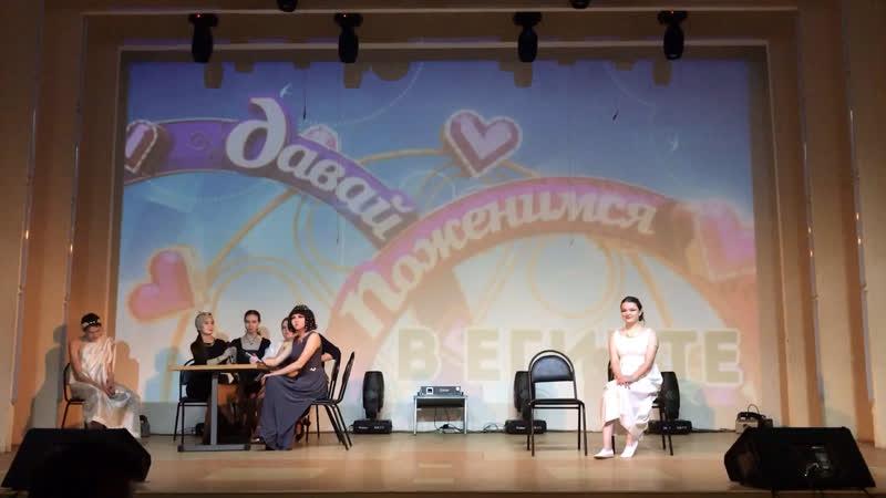 Выступление физического факультета и его лидера - Елены Ширинкиной!
