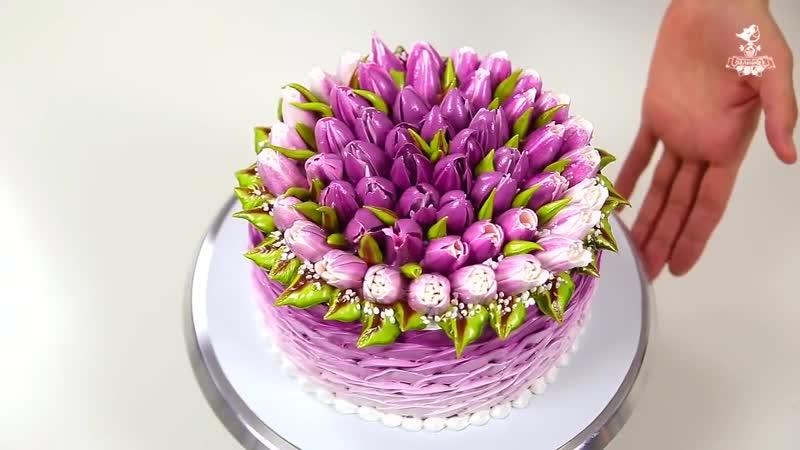 участке находилась фото торт с тюльпанами из сливок хотите получить