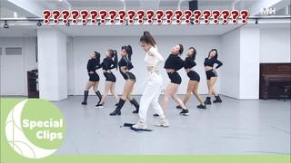 """[Special Clips] 청하(CHUNG HA) - """"Stay Tonight"""" 안무 영상 비하인드"""