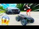 100MPH RC CAR TOWING MY CAR *WORKS *