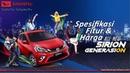 Spesifikasi, Fitur Harga Daihatsu All New Sirion 2019