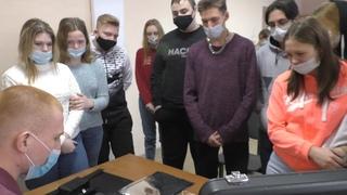 «Студенческий десант» посетил межмуниципальный отдел МВД России «Шадринский».