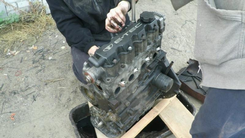 Замена умершего мотора Daewoo Lanos интересный случай
