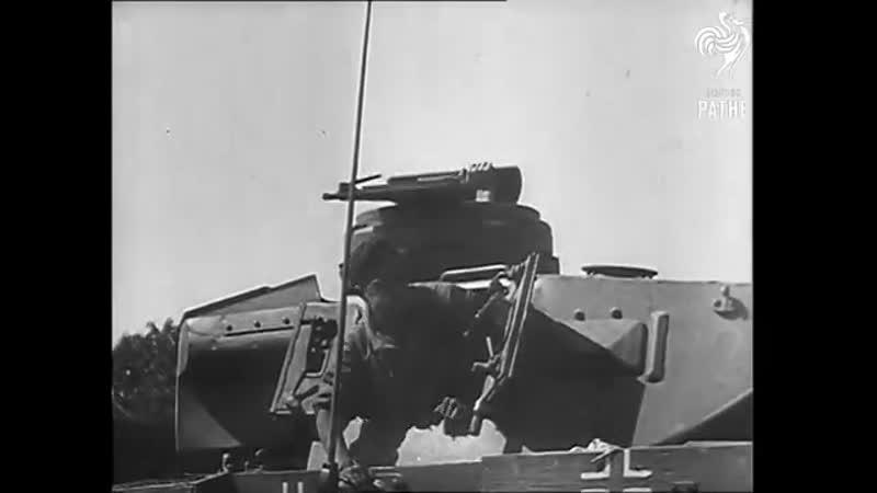Немецкое вторжение в СССР Июнь 1941 1941 Кинохроника