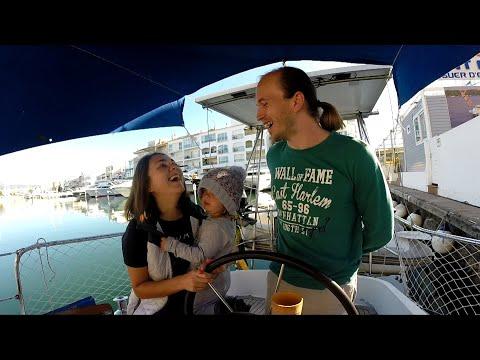В гостях у Суриковых: Жизнь на яхте Kids on boat