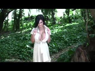 Denise milani non-nude erotic super model big tits sexy girl playboy эротика большие сиськи 6 размер - rain forest