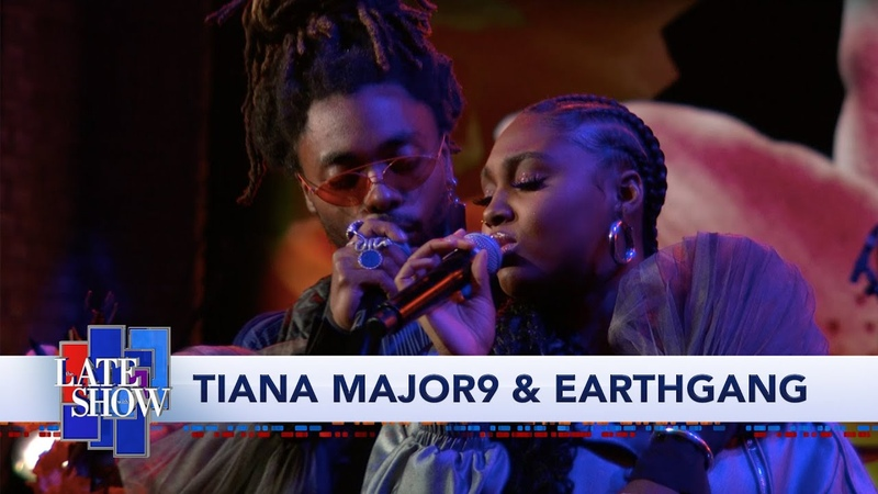 Tiana Major9 EARTHGANG: Collide Ft. Jon Batiste