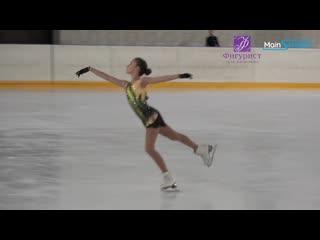 Софья акатьева, кп первенство г. москвы среди юношей и девушек (младший возраст) 2020