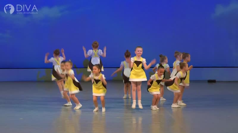 Детский танец 4 5 лет Синичка хореограф Ольга Завиялова студия танцев DIVA