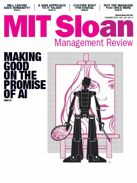 MIT Sloan Management Review Summer 2019