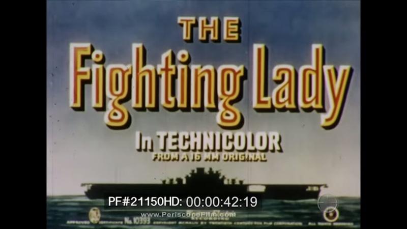 The Fighting Lady USS Yorktown Color 1944 Marcus Islands Truk World War II 21150 HD