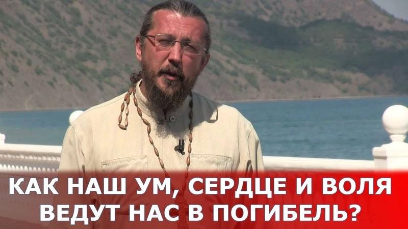 Как наши ум, сердце и воля ведут нас погибель Священник Игорь Сильченков
