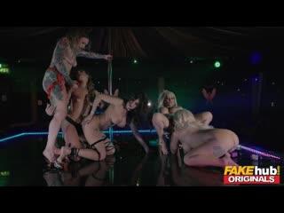 Fakehub Originals 36 - Amber Jayne, Ava Austen, Louise Lee, Princess Jasmin - Milf full hd porn секс sex порно xxx милфа оргия