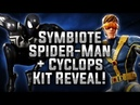 Symbiote Spider-Man Cyclops KIT REVEAL! - MARVEL Strike Force - MSF