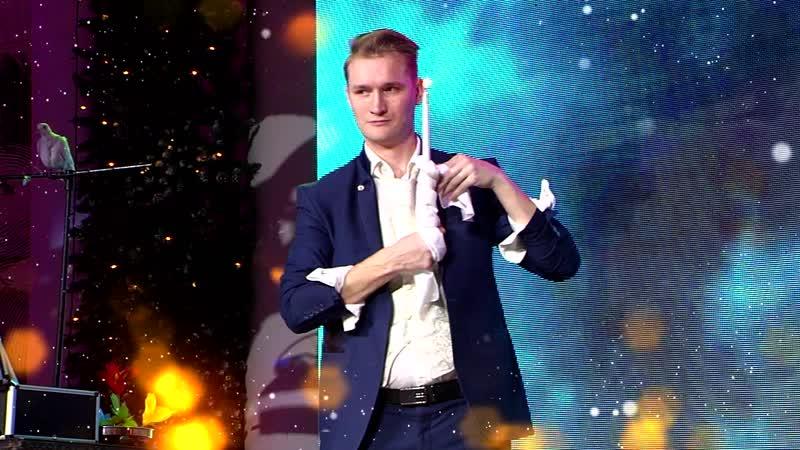 Выступление в программе Новогодний переполох на канале Волгоград 1