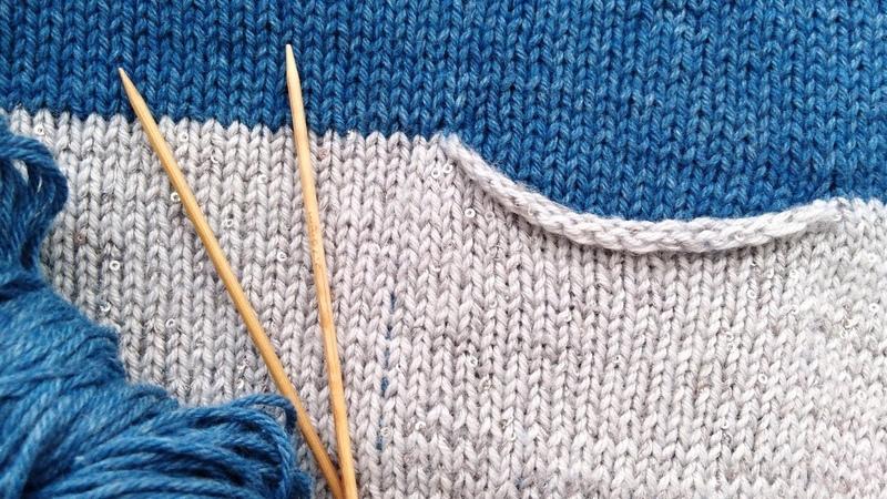 Вязание. Карман на современный лад. Мк. Knitting. MK.