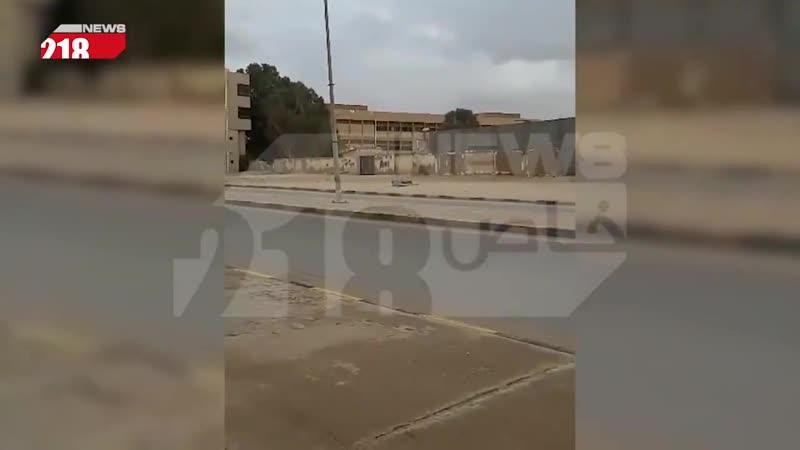 Video of LNA column from Sirte