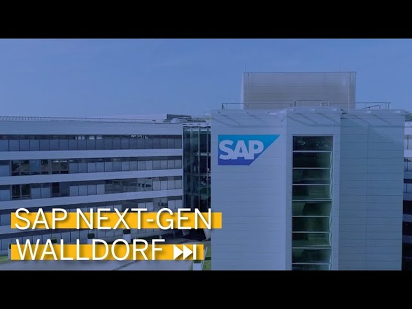 Headquarters of SAP in Walldorf 2019 with SAP Next-Gen