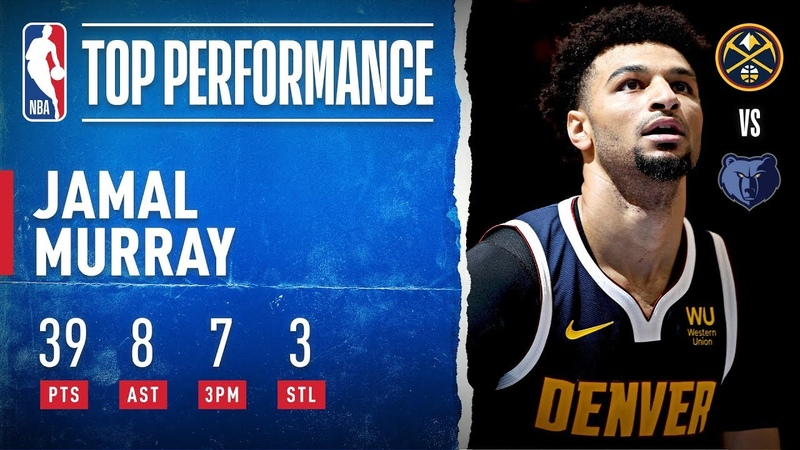 Jamal Murray Drops 39 With 7 3PM!