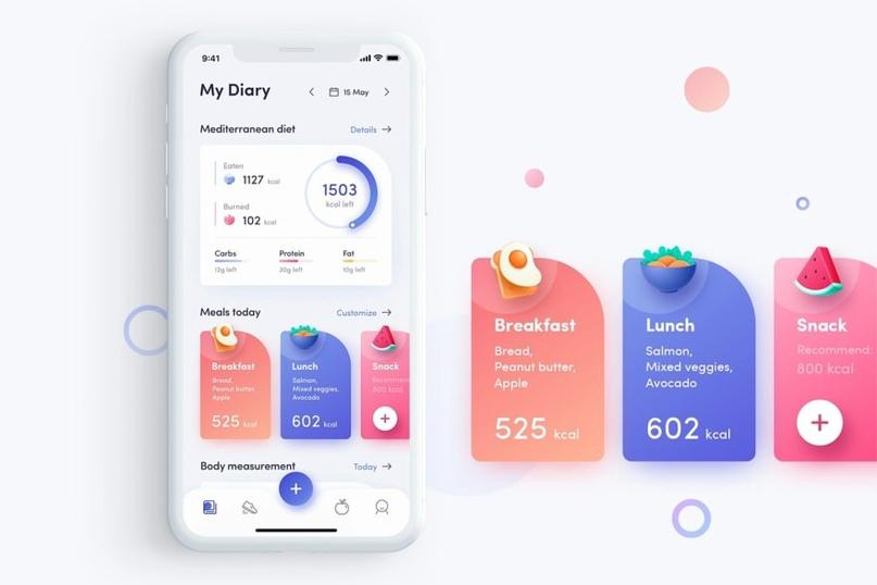 Лучшие шаблоны для мобильных приложений и темы 2019 года, изображение №9