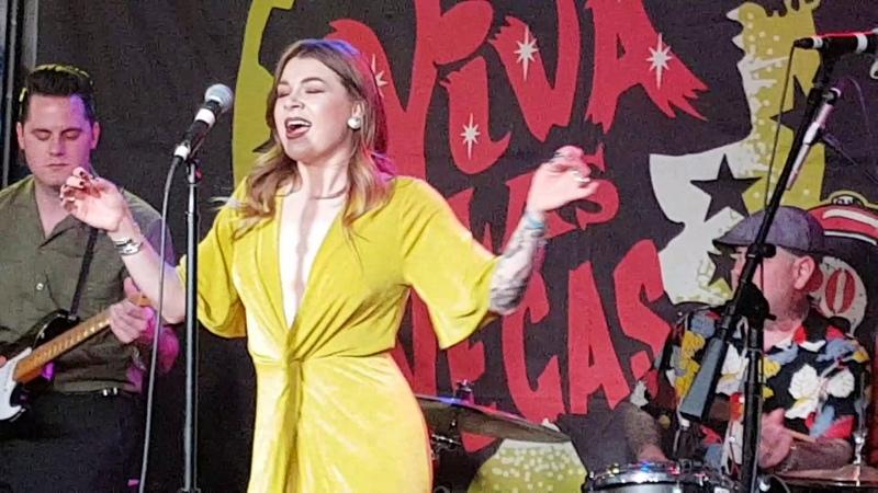 The Highjivers Rockn Viva Las Vegas Rockabilly Weekender 20
