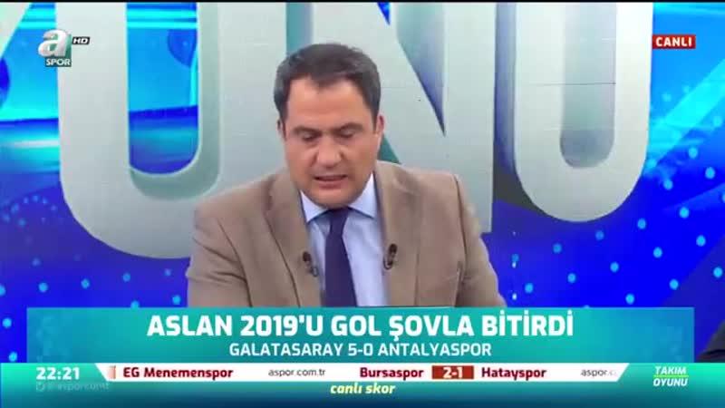 Erman Toroğlu Selçukla Belhandayla Bir Yere Varamazsın A Spor Takım Oyunu 28 12 2019