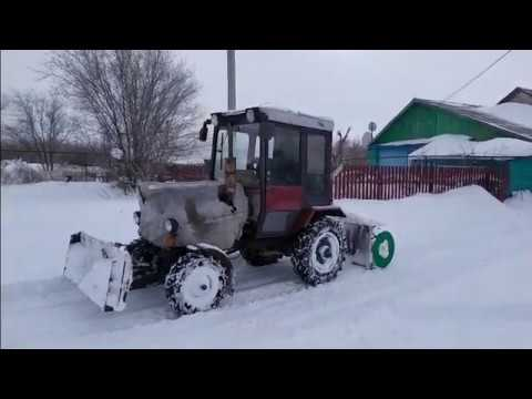 Шнеко роторный снегоочиститель 2020