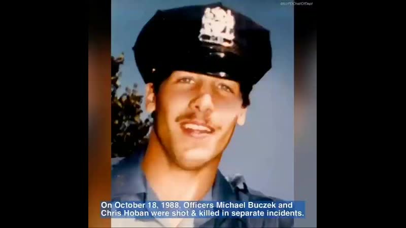 Thirty one years ago Officers Chris Hoban Mike Buczek were shot and killed in separate incidents Although they didn't know eac