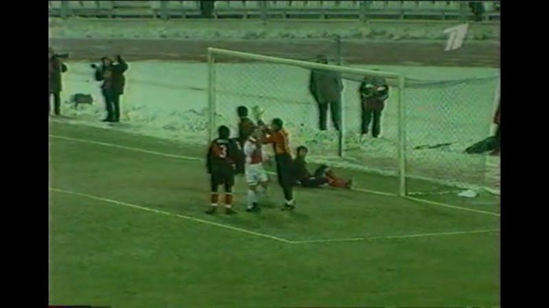 Локомотив (М) 0-0 Райо Вальекано / 23.11.2000 / FC Lokomotiv Moscow vs Rayo Vallecano