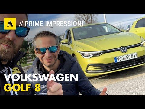 Volkswagen GOLF 8   Prima prova su strada. Prezzo? Da 25.750 euro