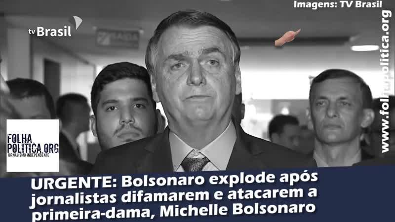 Bolsonaro Explode Após Matéria Sobre Família da Primeira-Dama (2,1 min)