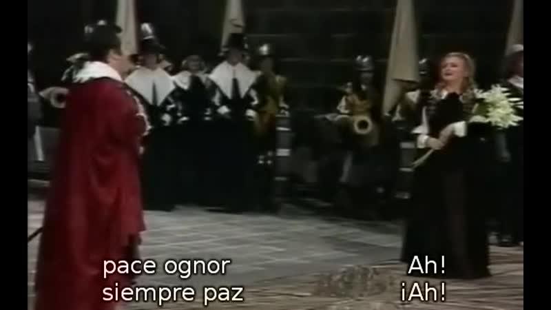 Salvatore Fisichella - Edita Gruverova - A Te o cara de I Puritani de Bellini. Bregenz, 1985.