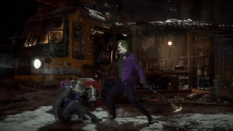 Джокер в Mortal Kombat Русская озвучка Lord Estragon