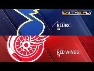 Blues - Red Wings 10/27/19