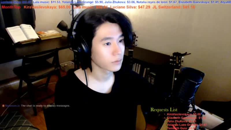 【Live Stream_ライブ配信】 🇰🇷🇯🇵🇬🇧🇫🇷🇪🇸 Talk and Song Practice , 適当な弾き語り配信。 (5).mp4
