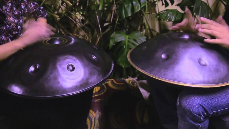 LUMI Handpan Duo - Luca Bertelli Mumi on HANG PANArt and Asachan Handpan